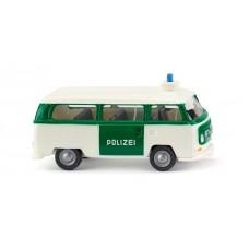 Wiking 086439 Polizei - VW T2 Bus