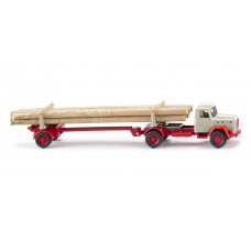 Wiking 039011 Langholztransporter (Magirus)