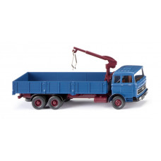 Wiking 043307 Hochbordpritschen-Lkw (MB LP 2223) - azurblau
