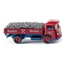 """Wiking 047604 Pritschen-Lkw (Büssing 4500) """"Kohlen Wuttke"""""""