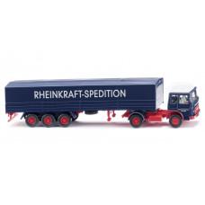"""Wiking 051701 Pritschensattelzug (MAN) """"Rheinkraft-Spedition"""""""
