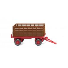 Wiking 038404 Landwirtschaftlicher Anhänger - rehbraun