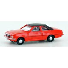 Lemke LC4504 Opel Rekord D Coupé rot-orange 1:160