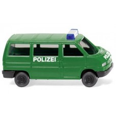 Wiking 093507 Polizei -VW T4 Bus-Spur N