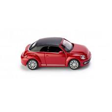Wiking 002849 VW The Beetle Cabrio (geschlossen) - tornadorot