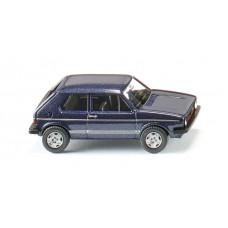 Wiking 004502 VW Golf I GTI - heliosblau met