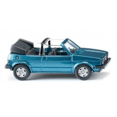 Wiking 004604 VW Golf I Cabrio - oceanic blue met.