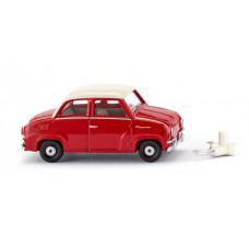 Wiking 018402 Glas Goggomobil - rot/weiß