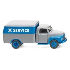 """Wiking 035402 Kastenwagen (Opel Blitz) """"WM Service"""""""