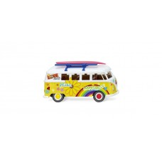 "Wiking 079725 VW T1 Bus ""Flower Power"""