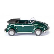 Wiking 080208 VW Käfer Cabrio - yuccagrün met.