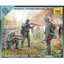 Zvezda 6105 WWII Fig.-Satz Dt. Infanterie (10) 1:72