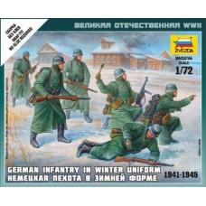 Zvezda 6198 Deutsche Infanterie (Winteruniform) 1:72