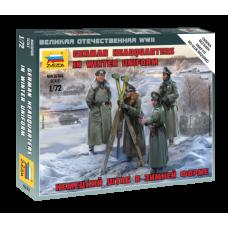 Zvezda 6232 German HQ Winter 1:72